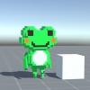 【MagicaVoxel】MagicaVoxelで作成したキャラクタをUnityでアニメ-ションさせよう (