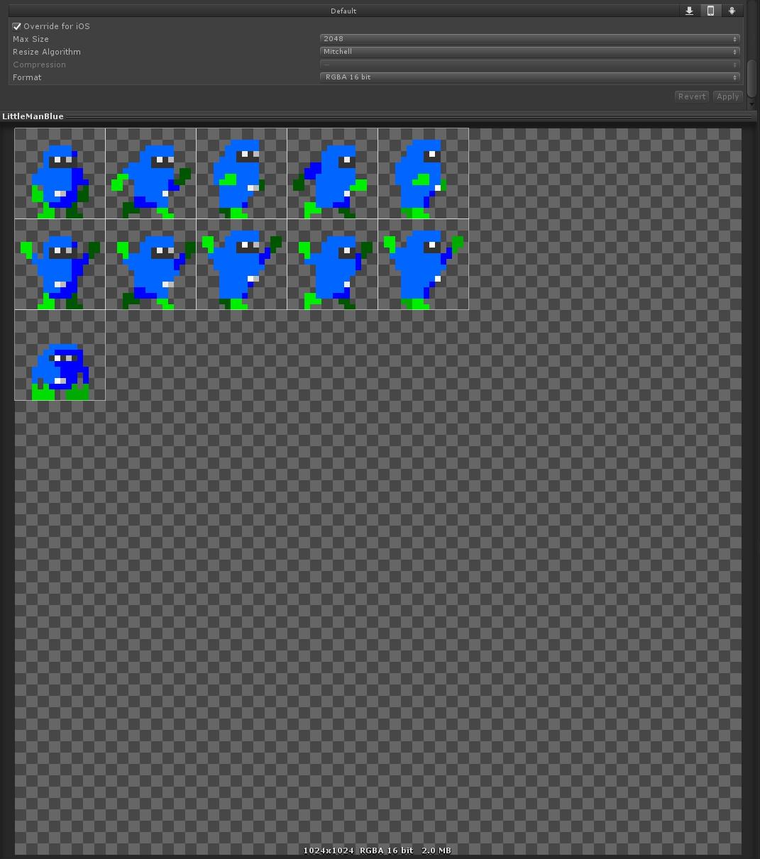 Unity】2Dスプライトやテクスチャがにじむ場合の対処について